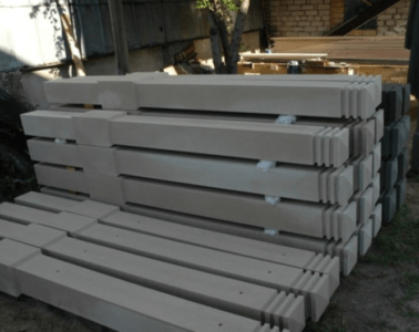 бетонные столбы для забора своими руками c с учетом грунта