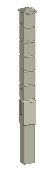 Столб «Кубик»